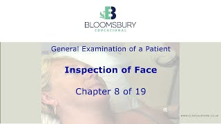 Inspection of face (8) General examination procedure