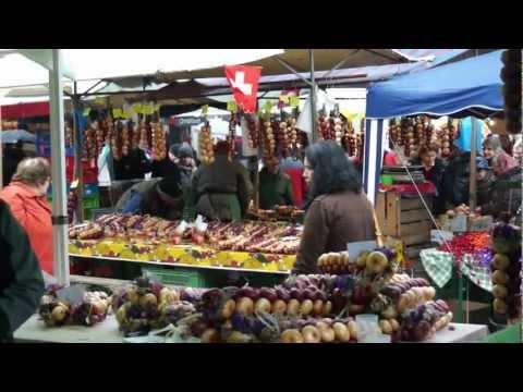 Bern Onion Market, Switzerland
