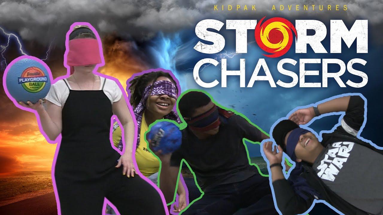Blindfolded Dodgeball ⛈️   Storm Chasers Week 2