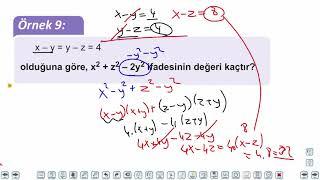 Eğitim Vadisi TYT Matematik 42.Föy Çarpanlara Ayırma Konu Anlatım Videoları