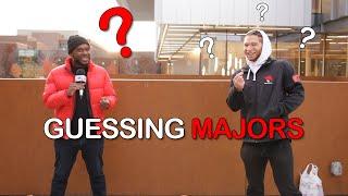 Guessing Majors At YorkU