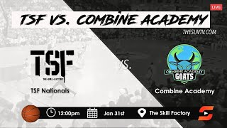 TSF vs. Combine Academy - KAI SOTTO goes for 31pts, 13reb, 4blk & 4ast in Skill Factory victory.