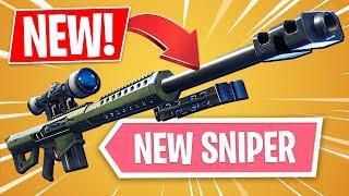 New Heavy Sniper Rifle!! *Pro Fortnite Player* (Fortnite New Update)
