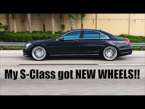 My S-Class got NEW WHEELS!!