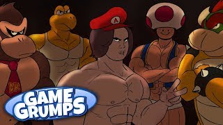 Mario Club - Game Grumps Animated - by Flannelson