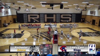 Rochester Girls Volleyball vs Lewis Cass