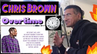 Chris Brown   Overtime (Jtip Reaction)