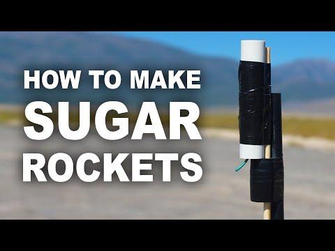 Rakety z cukru