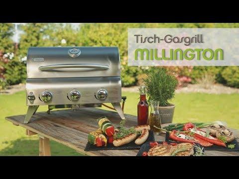 tepro Tisch-Gasgrill Millington