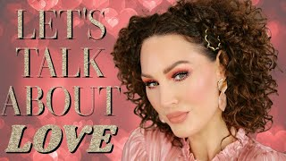 LET'S TALK ABOUT LOVE   VALENTINES Q&A   The Glam Belle