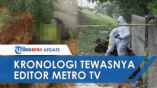 Kronologi Tewasnya Editor Metro TV Yodi Prabowo, Begini Kondisinya saat Ditemukan 3 Anak Kecil