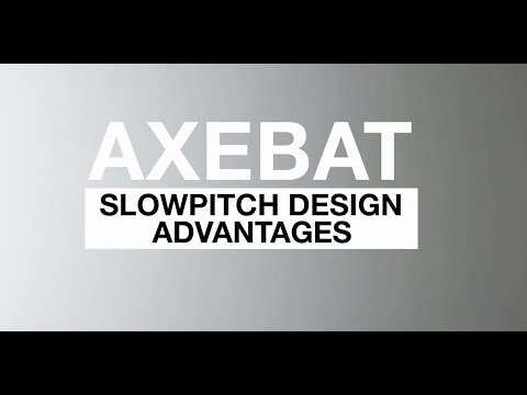 Axe Slow Pitch Softball Bat Handle Design