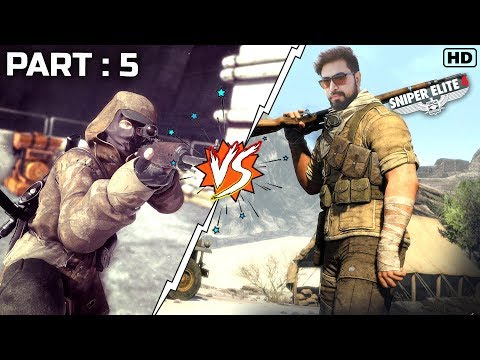Sniper Elite 4 Best Moments Part 5 | Sniper Intense Gameplay | हिंदी में