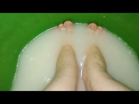 От ТРЕЩИН НА ПЯТКАХ и следа не останется. рецепт ванночки