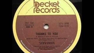 Sinnamon - Thanks To You
