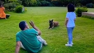 Ziva Dhoni Cute Video Playing Cricket With Father MS Dhoni & New Dog | Last Page Readers