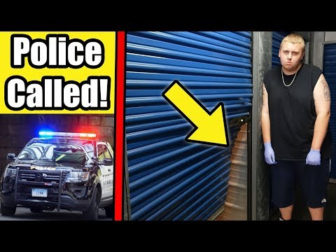 POLICE CALLED! Old Owner BROKE INTO Storage Unit! I Bought An Abandoned Storage Unit!