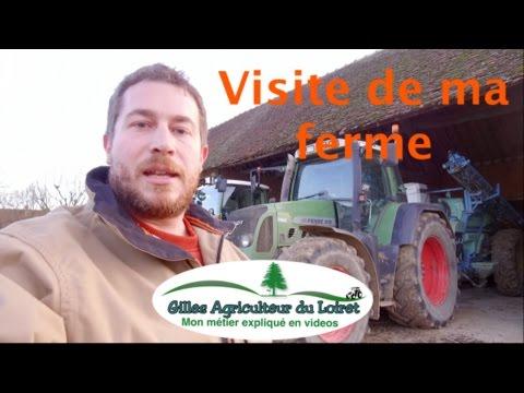Gilles, agriculteur dans le Loiret, vous propose une visite de sa ferme