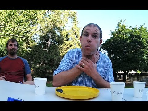 Most Blueberries Stuffed in the mouth - 124 - Guinness World Record