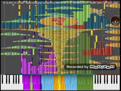 music just using windows 98 sounds black midi - смотреть онлайн на