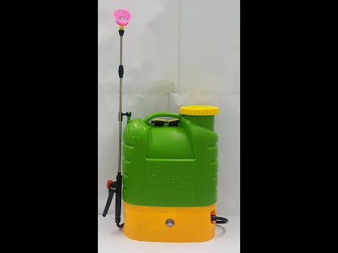 Blue And Green Battery Operated Sprayer