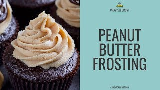 easy fluffy peanut butter icing