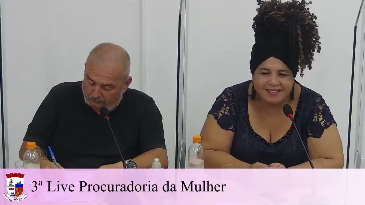 Live 3 - Procuradora Especial da Mulher 31/03/2021