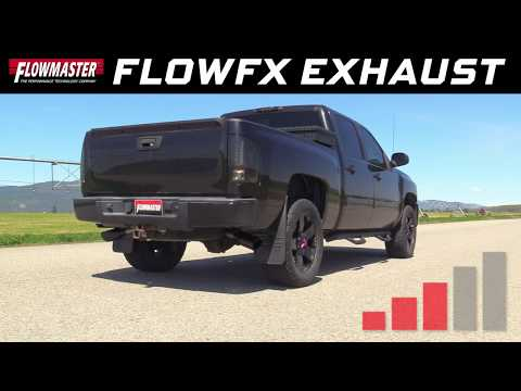 2009-13 GM Silverado/Sierra 1500 5.3L - FlowFX Cat-back Exhaust System 717822