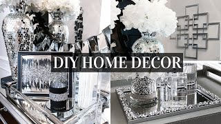 DIY DOLLAR TREE Mirror Home Decor | Decorating Ideas On A BUDGET!