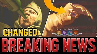 TREYARCH CHANGED THE CLASSIFIED CUTSCENE! SPRKNIFE EASTER EGG GAMEPLAY! (Black Ops 4)