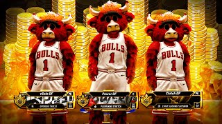 RUNNING 3 MASCOTS ON THE $100,000 COURT IN STAGE! DF ALL MASCOT TEAM BEST BUILDS NBA 2K20