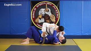 Eagle BJJ: Side Control to Mount (knee slide) - Carlos Lopez