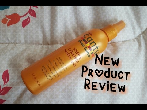 New Hair Product! CANTU Holding Spritz Review