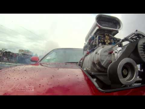 SUPERCHARGED LS1 SILVIA BLOWS ENGINE
