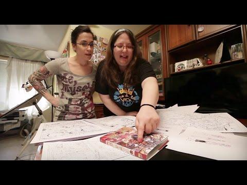 Irene Díaz y Laura Moreno, manga con sabor andaluz