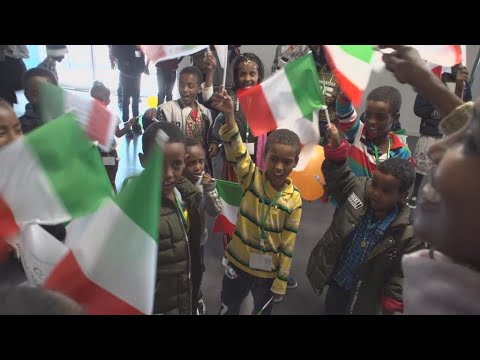 Video: Humanitarian corridor to Italy brings hope to Eritrean refugees
