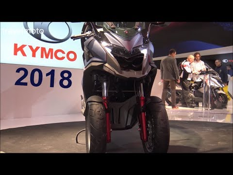 The 2018 KYMCO Scooters