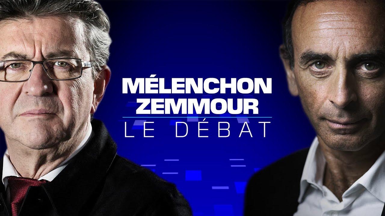 Mélenchon-Zemmour: revoir leur débat en intégralité