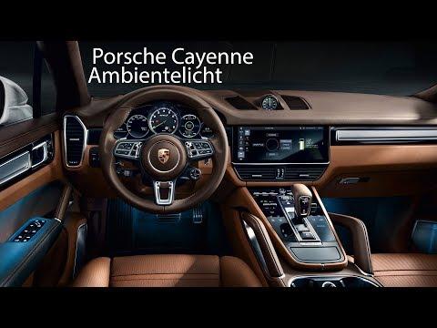 Ambiente-Licht im Porsche Cayenne (E3) [4K] - Autophorie