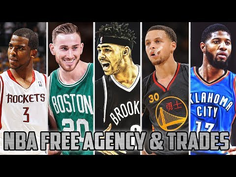NBA Free Agency 2017 - Latest Trades Ft. Stephen Curry, Kevin Durant, Paul George…etc