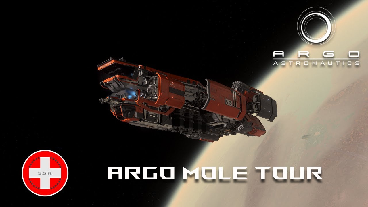 Star Citizen 3.8.0 FR - Présentation du Argo M.O.L.E.