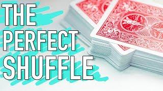 How to MASTER the perfect shuffle! // Faro shuffle & Magic trick tutorial