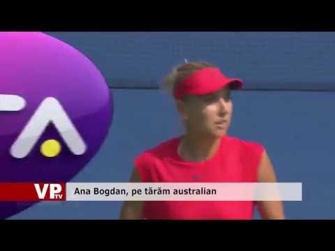 Ana Bogdan, pe tărăm australian