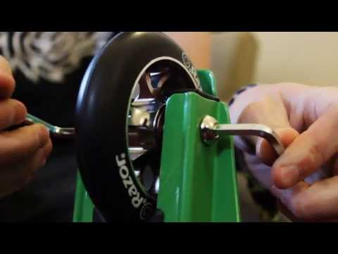 Razor scooter accessories how to fit a set of wheels