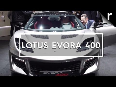 Lotus Evora 400 is the fastest yet | Geneva 2015