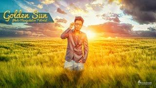 Photoshop Photo Manipulation Tutorial | Golden Sun Effects