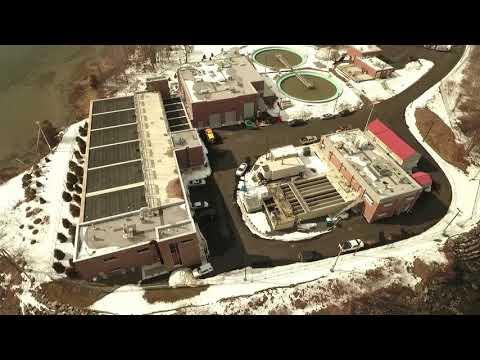February 2021 Peirce Island WWTF Upgrade Aerial Video