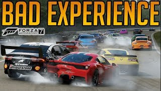 Forza 7 Worst Experience On This Game