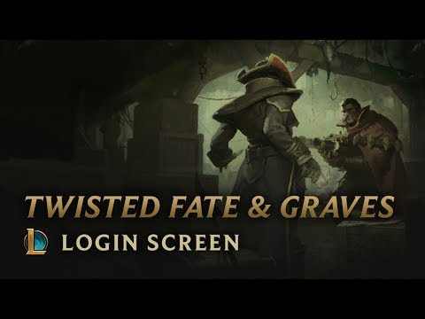 Twisted Fate & Graves | Login Screen – League of Legends