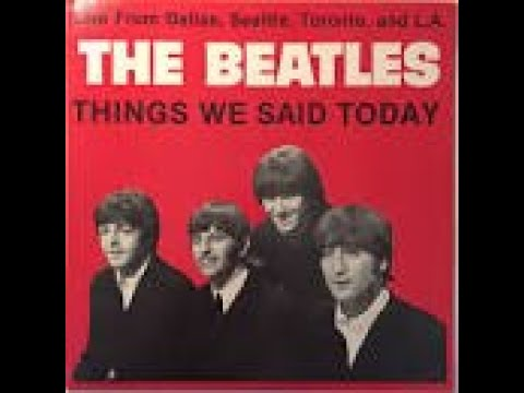 Things we said today - The Beatles (Instrumental) cover by Burraboy Easty